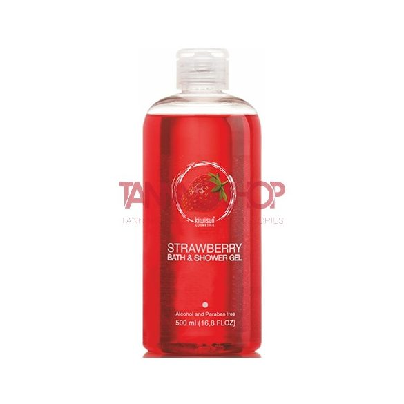 KiwiSun Strawberry Bath & Shower Gel 500 ml [gél tusfürdő]