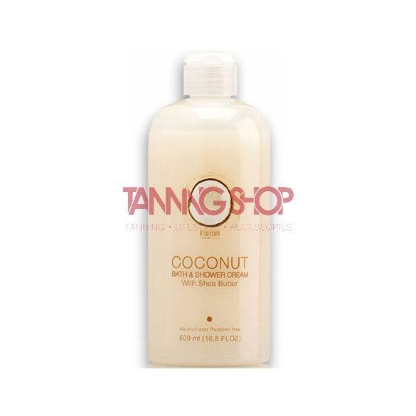 KiwiSun Coconut Bath & Shower Gel 500 ml [ápoló gél tusfürdő]
