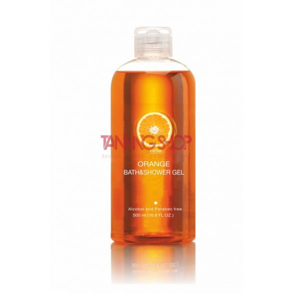 KiwiSun Orange Bath & Shower Gel 500 ml [ápoló gél tusfürdő]