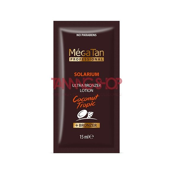 MégaTan COCONUT Tropic Ultra Bronzing Lotion 15 ml