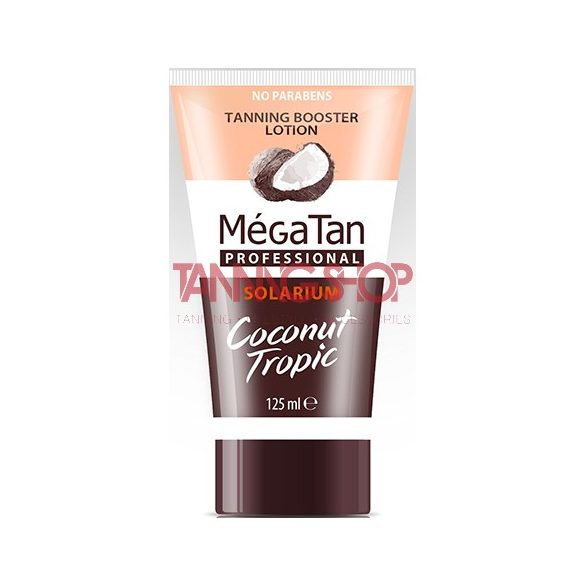 MégaTan COCONUT Tropic Tannning Booster Lotion 125 ml