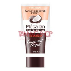 MégaTan Coconut Tropic Tannning Booster Lotion 40 ml