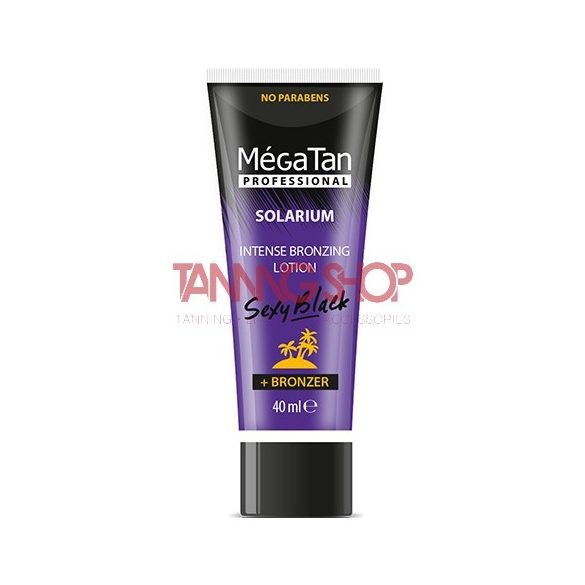 MégaTan SEXY BLACK Intense Bronzing Lotion 40 ml