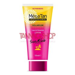 MégaTan SEXY BLACK Tan Extender Lotion 150 ml