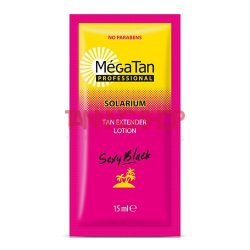 MégaTan SEXY BLACK Tan Extender Lotion 15 ml