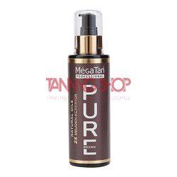 MégaTan PURE brown Natural Dry Tanning Oil + 2X Melanin 140 ml