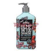 Malibu Tan HEMP Tattoo Enhancing Body Moisturizer 530 ml [szoláriumozás utáni tetoválást védő testápoló]