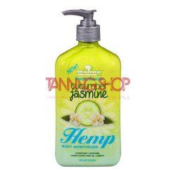 Malibu Tan HEMP Cucumber Jasmine Body Moisturizer 530 ml [szoláriumozás utáni ápoló testápoló]