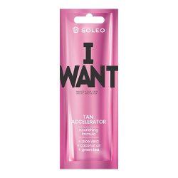 Soleo I Want 15 ml [Tan Accelerator]