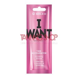 Soleo I Want 15 ml [Tan Accelerator]