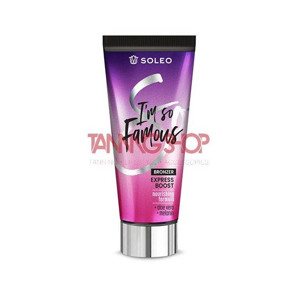 Soleo I'm So Famous Bronzer 150 ml [Express Boost]