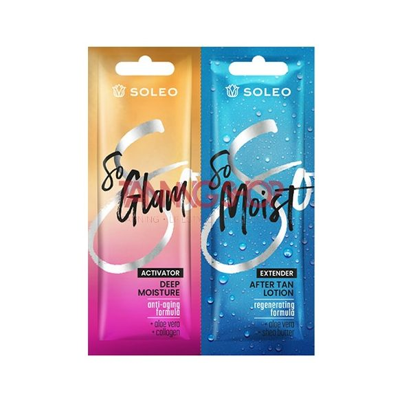 Soleo So Glam Activator 15 ml [Deep Moisture] + Soleo So Moist 15 ml [After Tan Lotion]