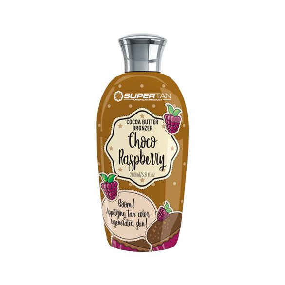 Supertan Choco Raspberry 200 ml