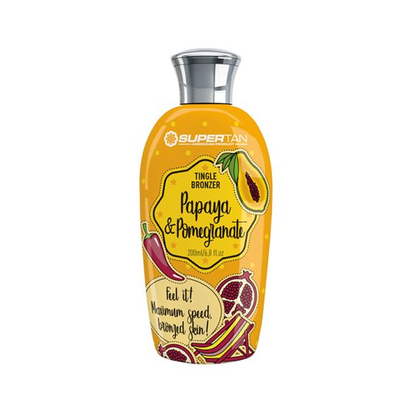 Supertan Papaya & Pomegranate 200 ml