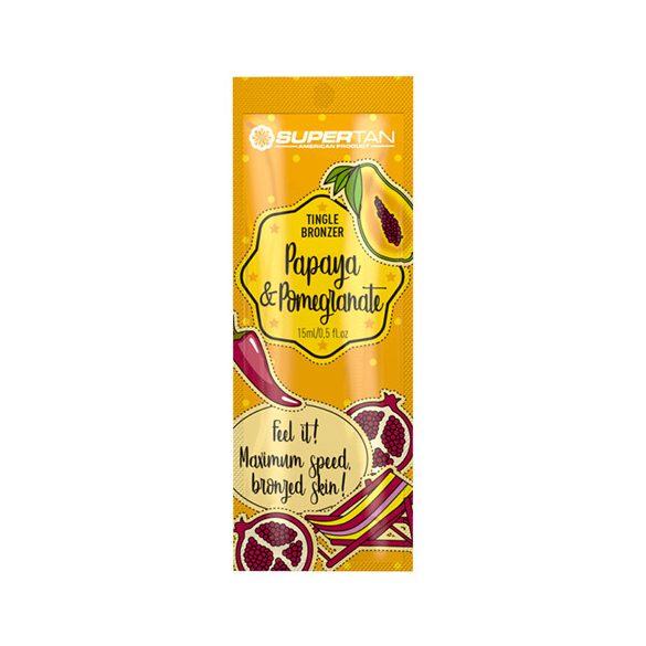 Supertan Papaya & Pomegranate 15 ml