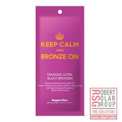 Supre Tan Keep Calm and Bronze On Black Bronzer 15 ml