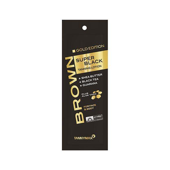 Tannymaxx GOLD EDITION SUPER BLACK Tanning Lotion 15 ml