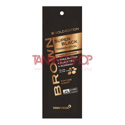 Tannymaxx GOLD EDITION SUPER BLACK Tanning Lotion + Dark Bronzer 15 ml