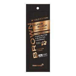 Tannymaxx GOLD EDITION SUPER BLACK Tanning Lotion + Dark Bronzer 15 ml