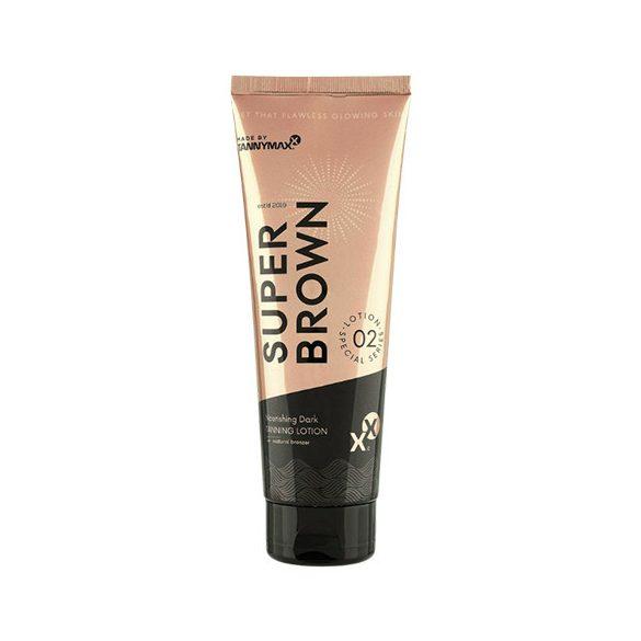 Tannymaxx SUPER BROWN Nourishing Dark Tanning Lotion + Natural Bronzer 250 ml