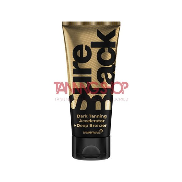 Tannymaxx SURE BLACK Dark Tanning Accelerator + Deep Bronzer 200 ml