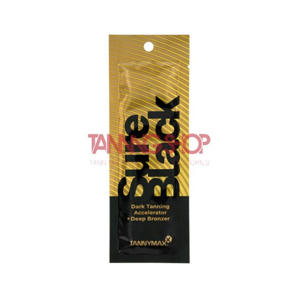 Tannymaxx SURE BLACK Dark Tanning Accelerator + Deep Bronzer 15 ml