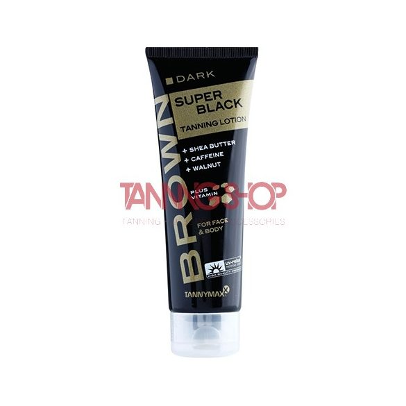 Tannymaxx SUPER BLACK Tanning Lotion 125 ml