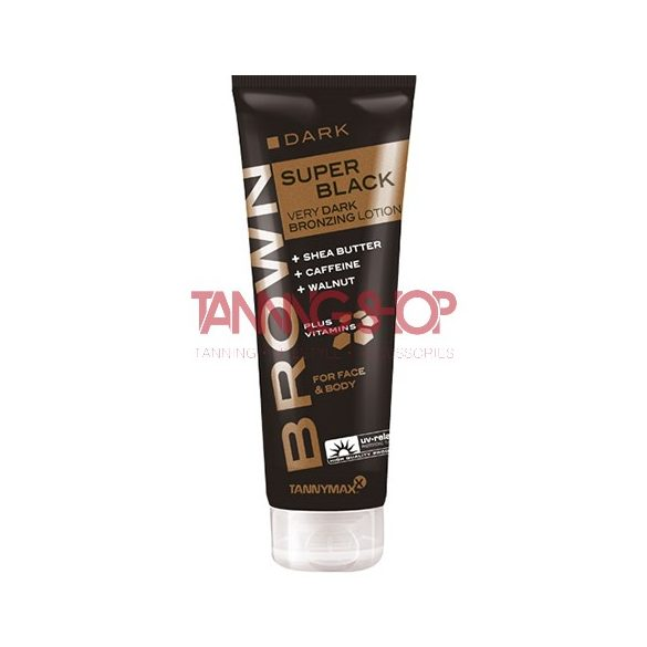 Tannymaxx SUPER BLACK Very Dark Bronzing 125 ml