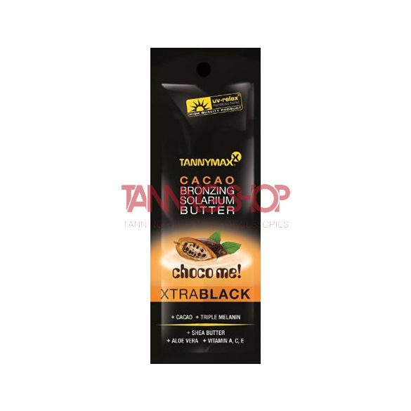 Tannymaxx X-TRA Black Cacao Bronzing Butter 10 ml