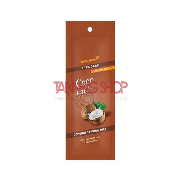 Tannymaxx X-TRA Dark Coconut Tanning Milk + Bronzer 15 ml
