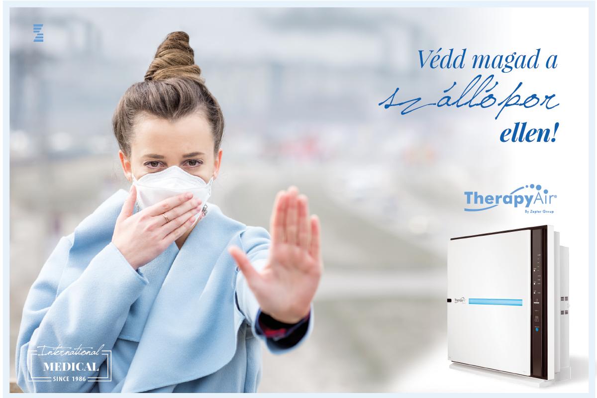 A Therapy Air iOn légtisztító berendezés elengedhetetlen kelléke minden szolárium stúdiónak.